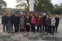 合肥市六安路小学荣城分校组织开展退休老师重阳节活动